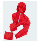 Packable Rain Jacket Celestial Blue