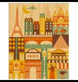 Petit Collage Paris Print 11x14