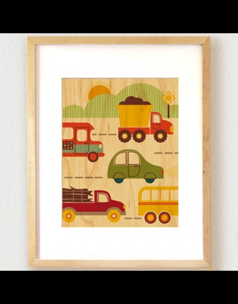 Petit Collage By Land Print 11x14
