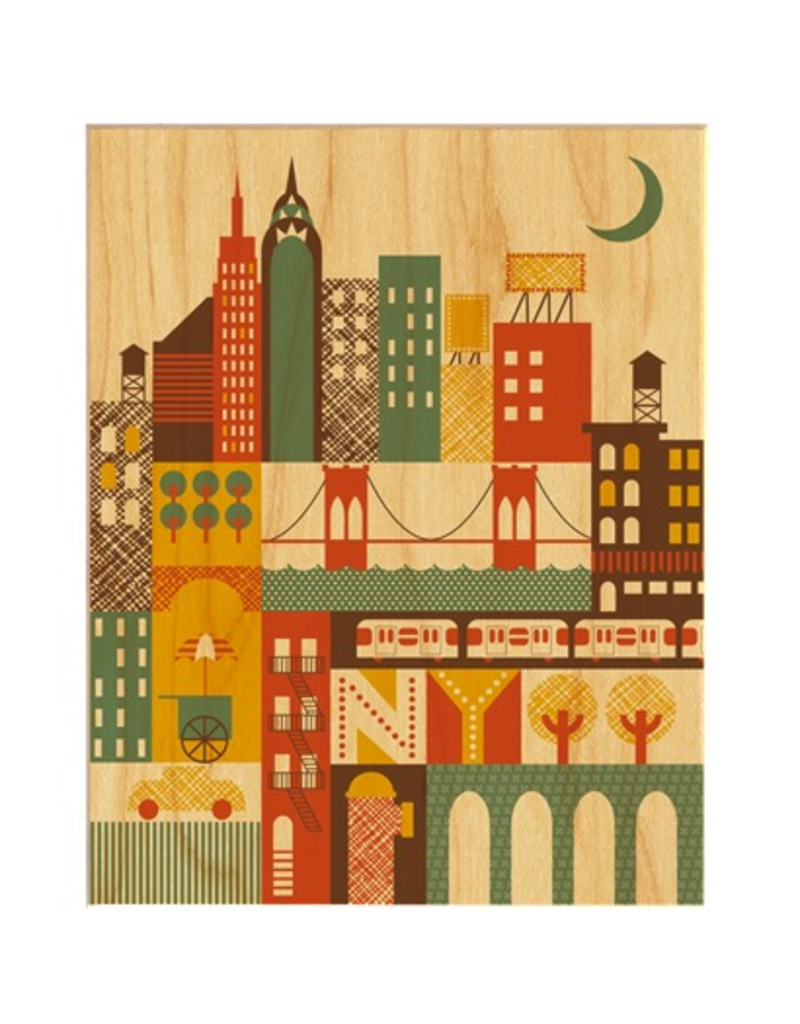 Petit Collage NY Print 8.5x11