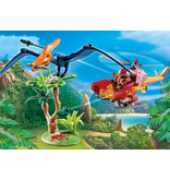 Playmobil Adventure Copter with Pterodactyl