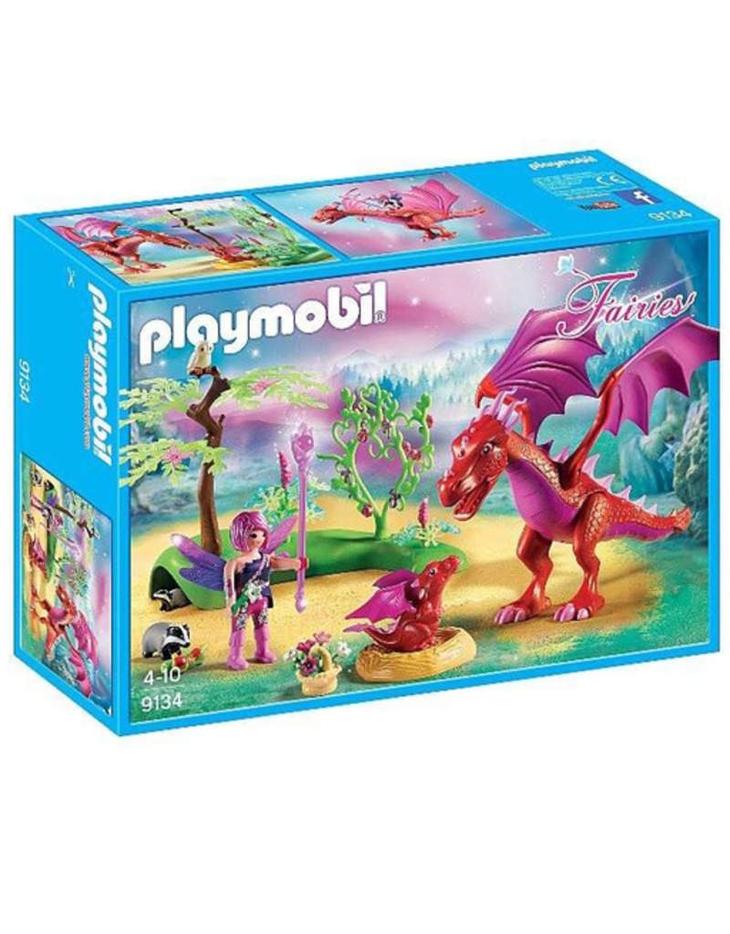 Playmobil Playmobil Friendly Dragon with Baby Fairies