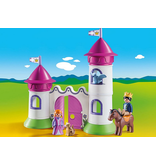 Playmobil Playmobil 1.2.3. Castle with Stackable Towers