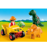 Playmobil Explorer with Dinos 18m+