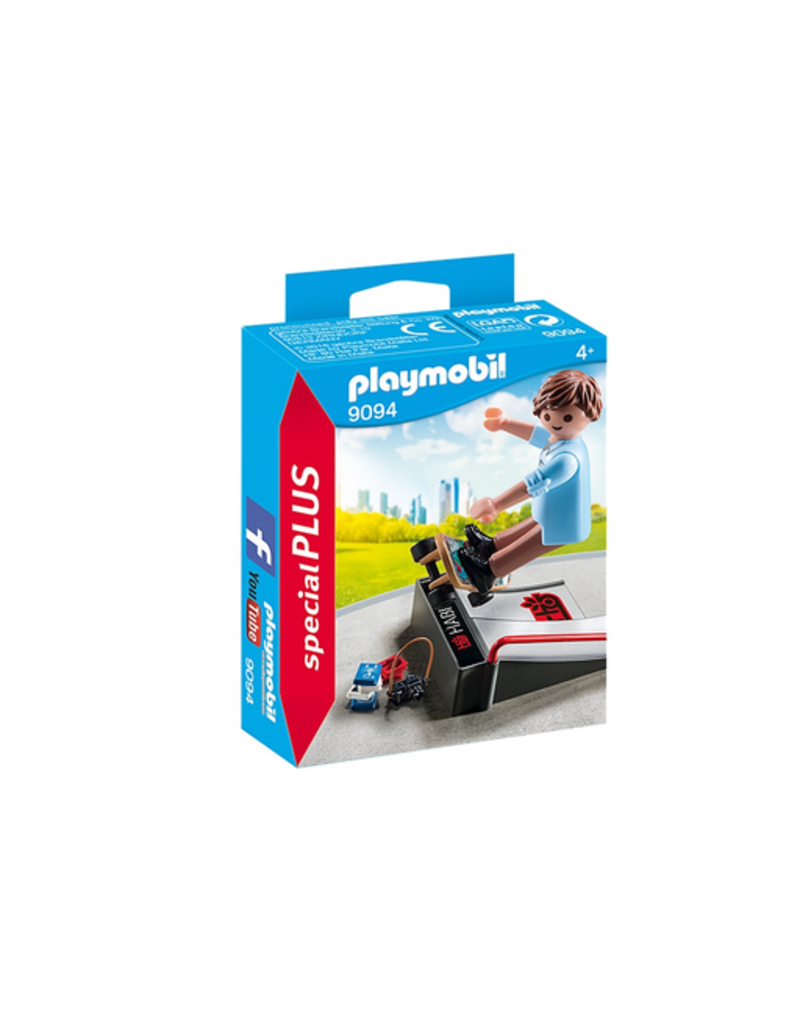 Playmobil Skateboarder with Ramp