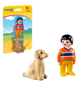 Playmobil Playmobil 1.2.3 Man with Dog