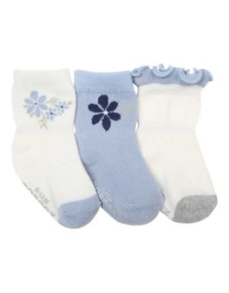 Girl's Sock 3pk - Pretty in Blue