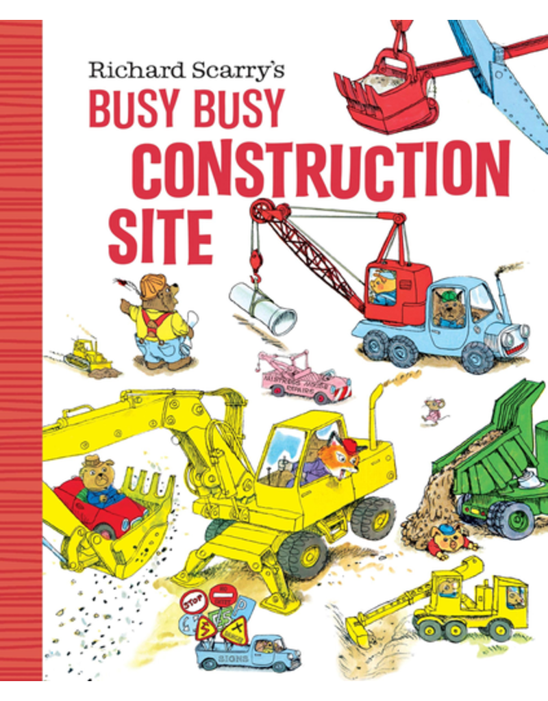 Random House Richard Scarry's Busy Busy Construction Site Board Book