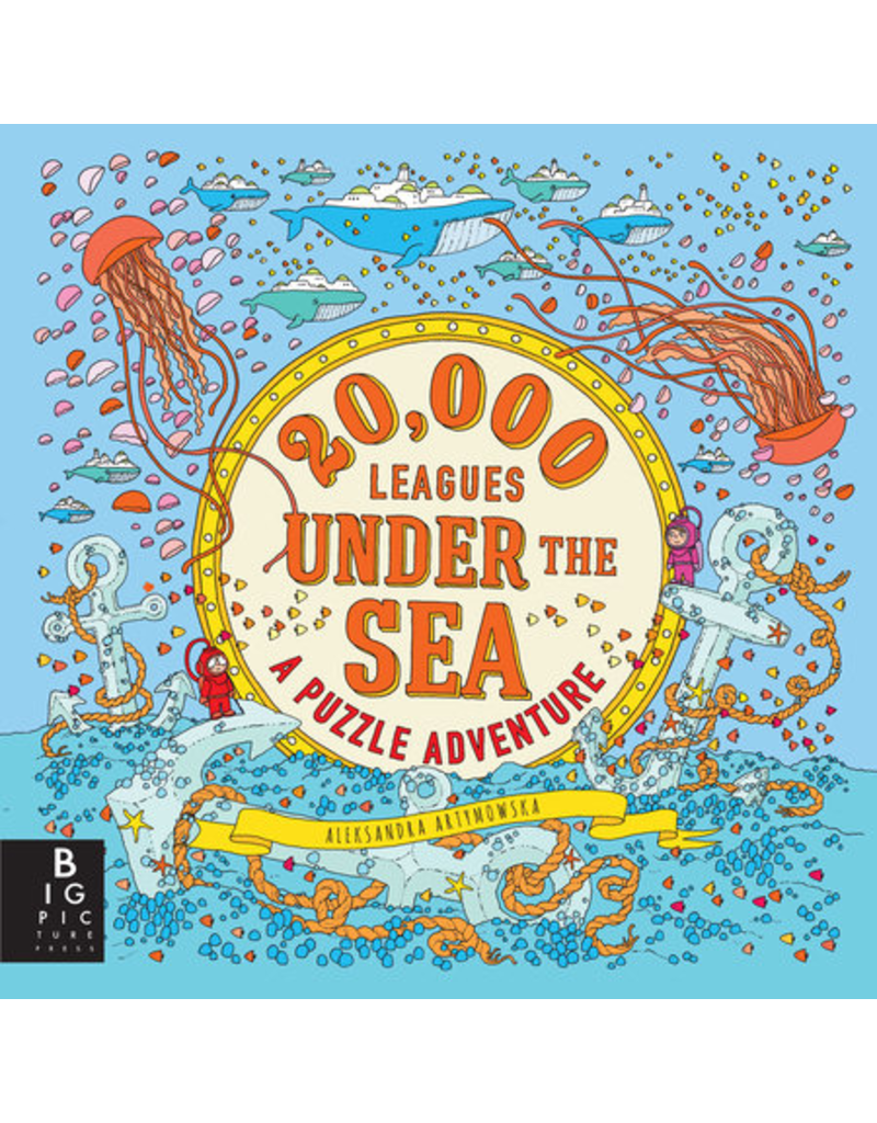 Random House 20,000 Leagues Under the Sea: A Puzzle Adventur
