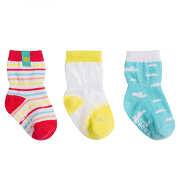 Robeez Shoes Sock 3pk - Sunny Skies