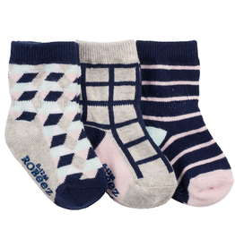 Robeez Shoes Sock 3pk - Modern Mila