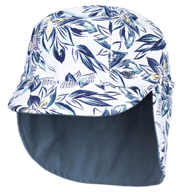 Quiksilver Come & Go Reversible Sun Swim Hat, 2-6y