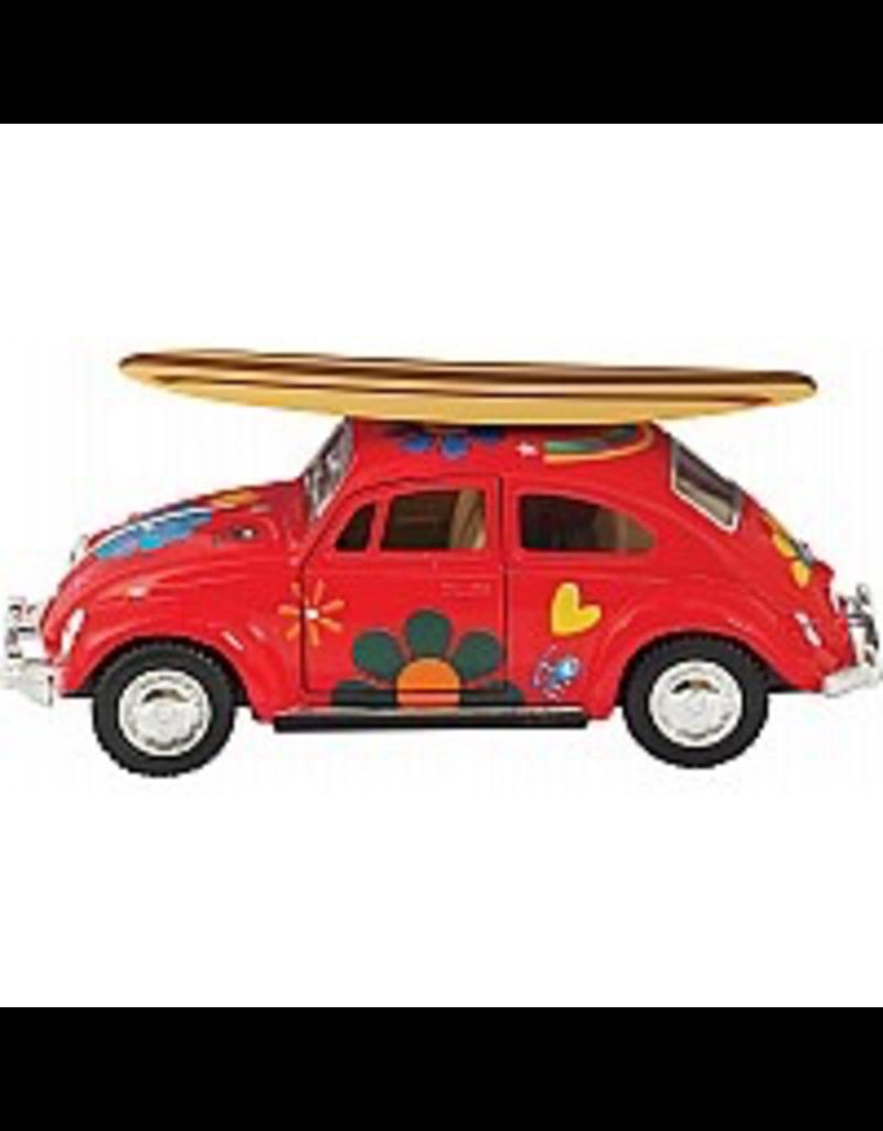 Schylling Die-Cast 1967 Beetle W/ Surfboard