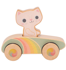 Schylling Cruisin Kitty - Rainbow Roller 12m