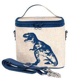 So Young Blue Dino Small Cooler Bag