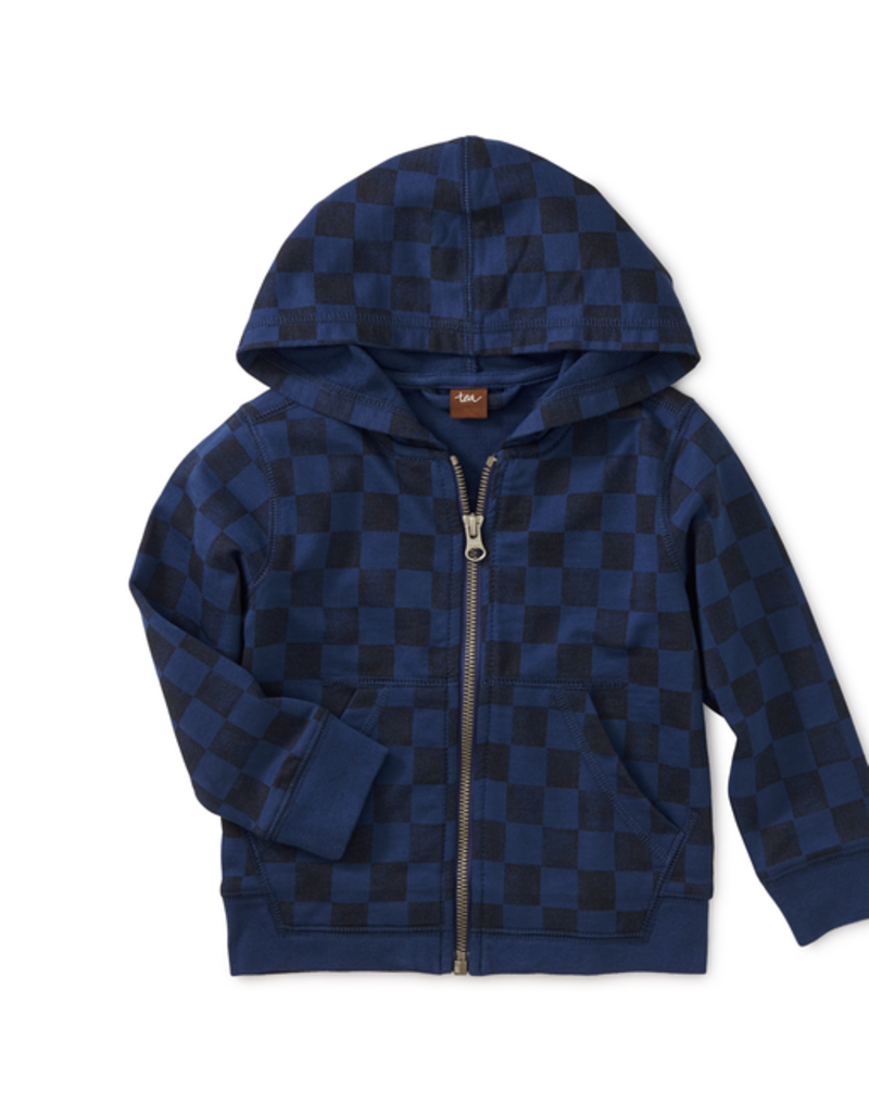 Tea Collection Checkerboard Hoodie