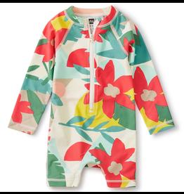 Tea Collection Floral UV Baby Rash Guard One-Piece