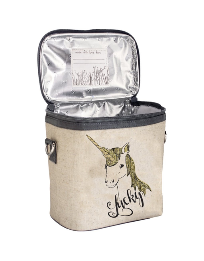 So Young Lucky Unicorn Small Cooler Bag