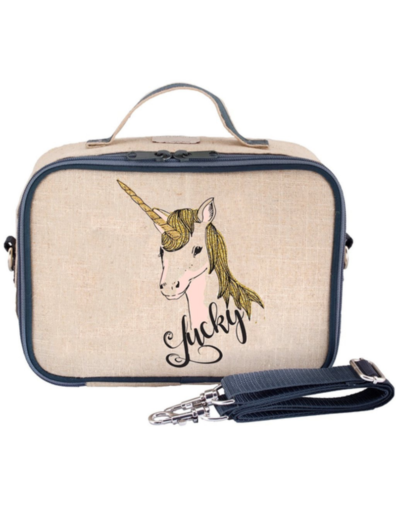 So Young Lucky Unicorn Lunchbox