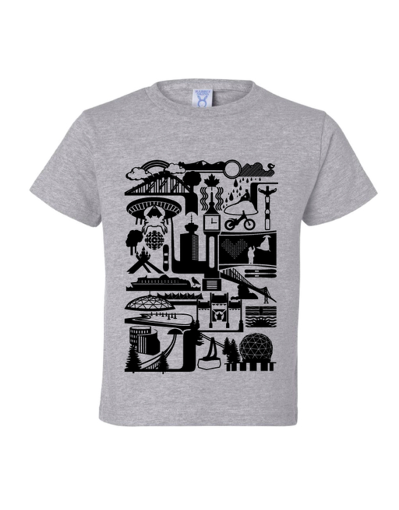 True North Vancity Icons T-Shirt