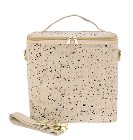So Young Linen - Splatter Lunch Poche