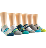 Stride Rite Everett Epic Hero No Show Socks 6pk
