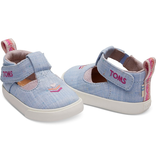 Toms Chambray Joon Tiny Shoes Size 5