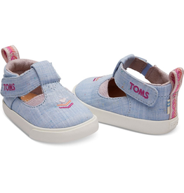 Toms Chambray Joon Tiny Shoes