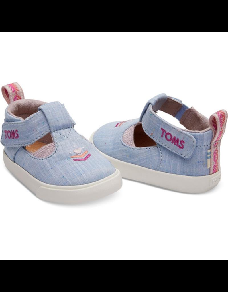 Toms Chambray Joon Tiny Shoes
