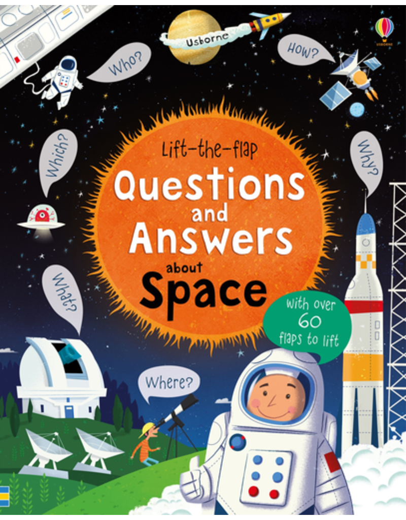 Usborne Lift-the-flap Questions & Answers about Space