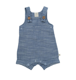 Chambray Organic Overall 18-24m