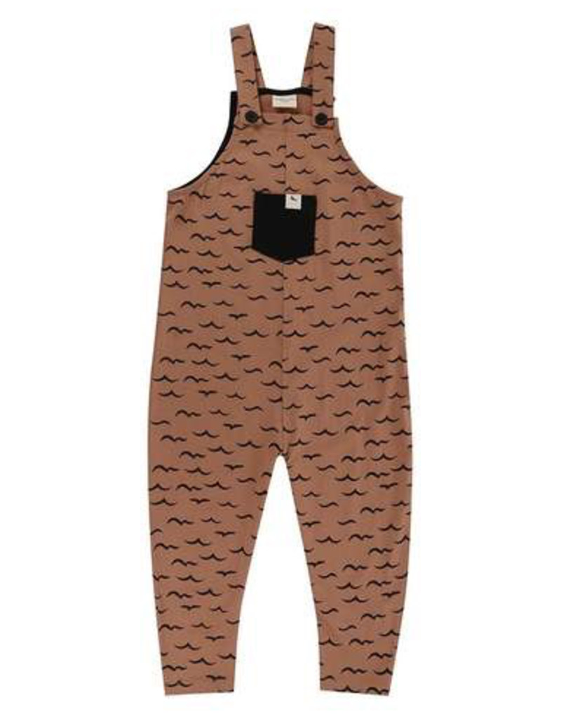 Turtledove London Air + Sea Easy Fit Organic Dungaree 2-3Y