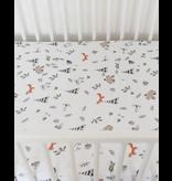 Little Unicorn Cotton Muslin Fitted Sheet