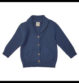 Organic Knit Cardigan 6-9m