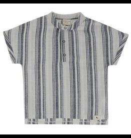 Turtledove London Sea Stripe Organic Shirt