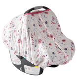 Little Unicorn Cotton Muslin Car Seat Canopy - Fairy Garden