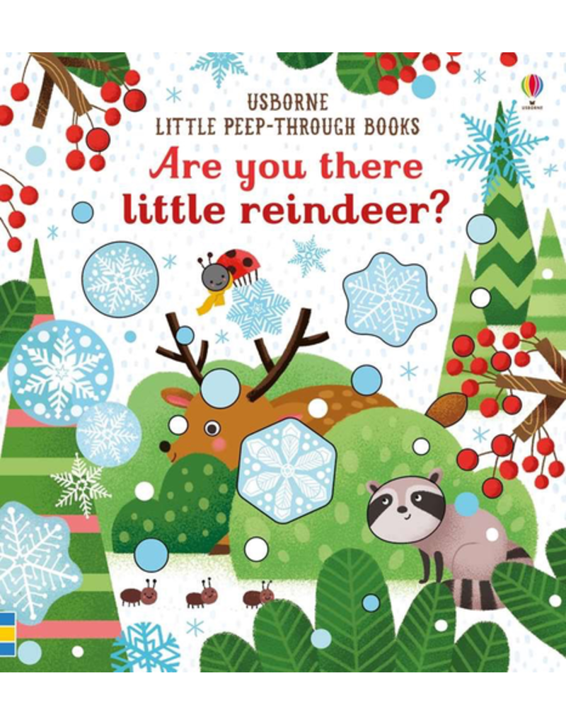 Usborne Are You There Little Reindeer?
