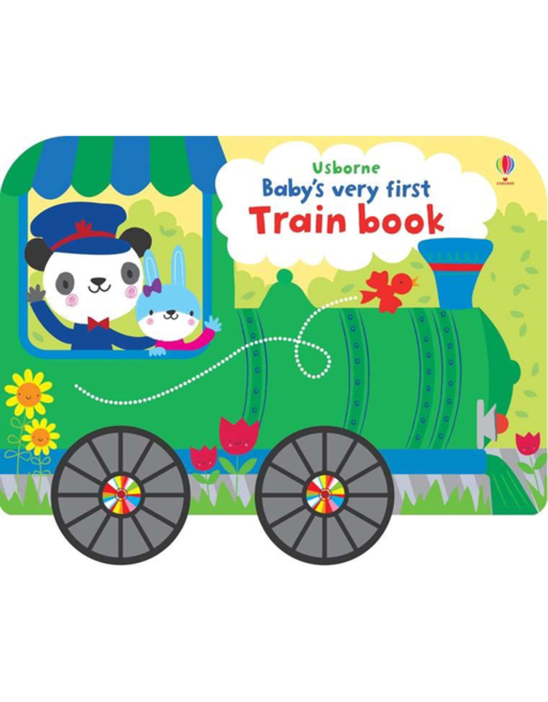 Usborne Baby's First Train Book