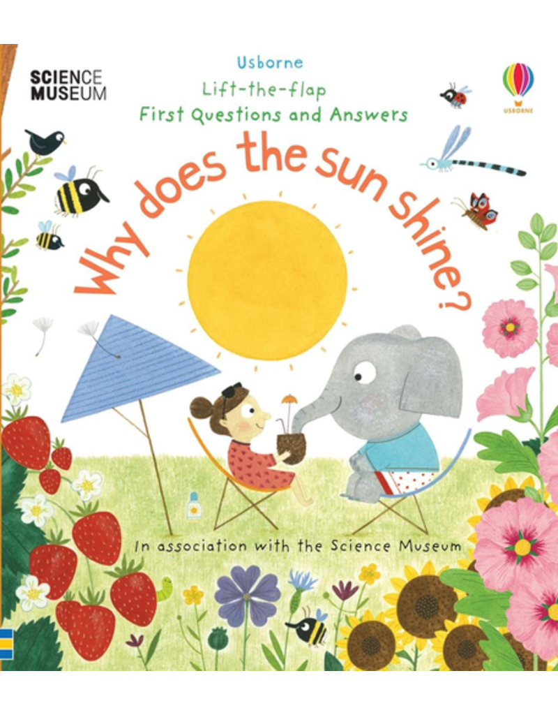 Usborne Lift-The-Flap First Questions And Answers Why Does The Sun Shine?