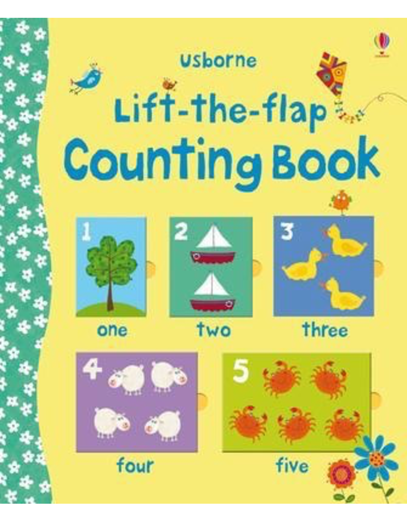 Usborne Preschool Lift-the-Flap Counting