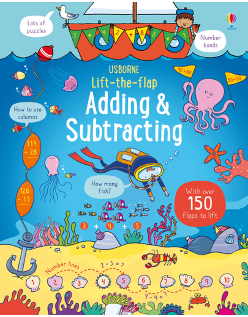 Usborne Lift-the-Flap Adding & Subtracting
