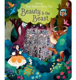 Usborne Peep Inside: Beauty & The Beast