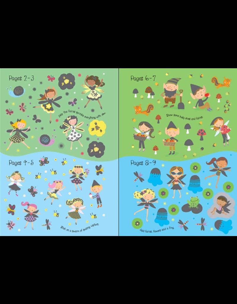 Usborne Little Sparkly Fairies Sticker Book