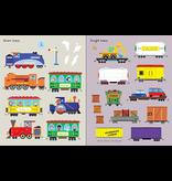 Usborne First Sticker Book: Trains