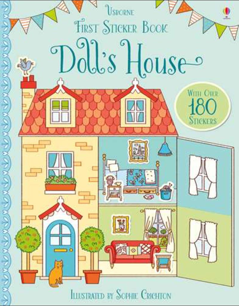 Usborne First Sticker Book: Doll's House