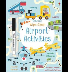 Usborne Wipe-Clean: Airport Activities