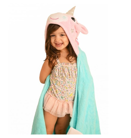 Zoocchini Zoocchini Hooded Allie the Alicorn Towel
