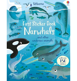 Usborne First Sticker Book Narwhals