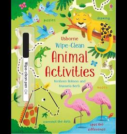Usborne Wipe-Clean: Animal Activities