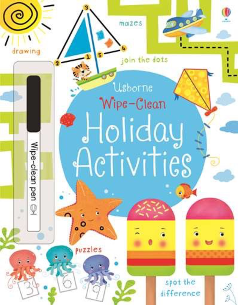 Usborne Wipe-Clean: Holiday Activities
